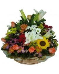 07. Corbelle de flores do campo