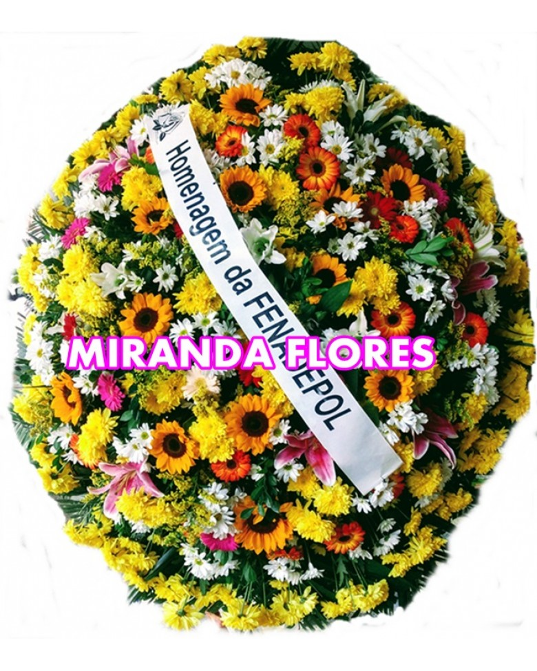 Top COROA DE FLORES FLORES DO CAMPO MW86
